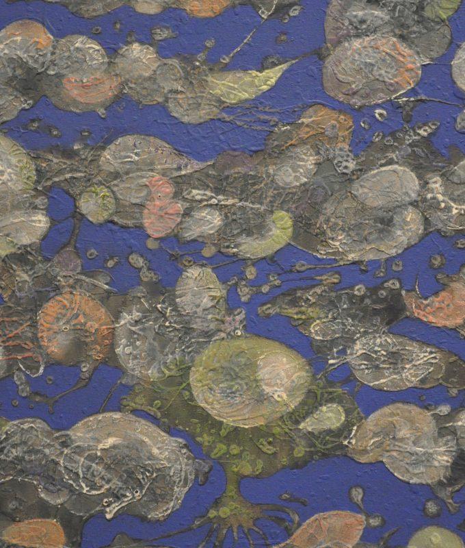 'Gut', Detail, acrylic on canvas