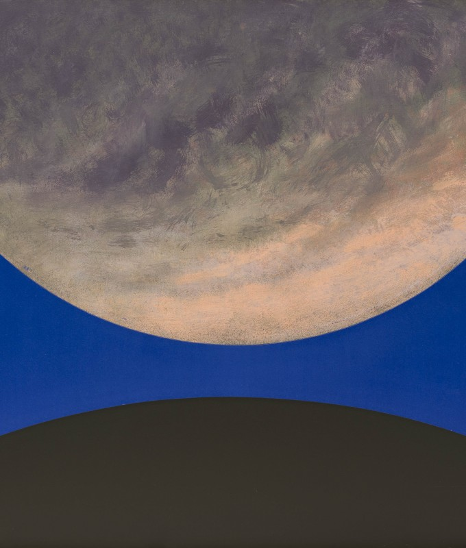 'Gas Giant', acrylic on canvas, 183 x 168 cms, 2013
